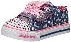 Skechers Kids 10469N Twinkle Toes Shuffles Light-Up Sneaker (Toddler/Little Kid) Skechers Kids http://www.amazon.com/dp/B00M03QJRS/ref=cm_sw_r_pi_dp_qnYrvb0HDVP85