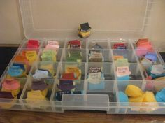 organize stampin up | Stampin' Up! Round Tab Punch Tiffanie Maines Stamping Sponges ...