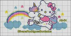 Hello Kitty Rainbow Unicorn