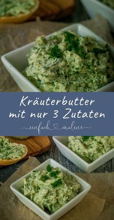 Beste Kräuterbutter mit nur 3 Zutaten – perfekt für Raclette & Grillen Best herb butter with only 3 ingredients. This recipe is so simple & awesome! The perfect recipe for raclette or for grilling. Baby Food Recipes, Paleo Recipes, Paleo Meal Plan, Meal Prep, Herb Butter, Apple Butter, Homemade Baby Foods, Perfect Food, Healthy Foods To Eat