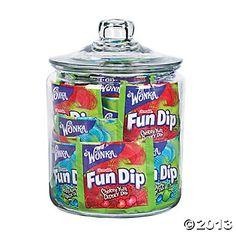 Wonka® Lik-m-aid® Fun Dip™--- $9.50/48. For Movie Night
