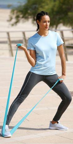 Dehnen, Strecken, Workout - Körper uns Geist im Einklang.