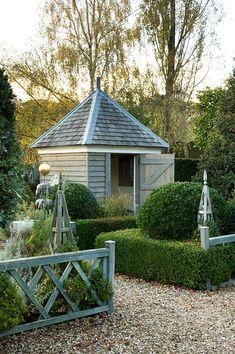 Sweet potting shed.
