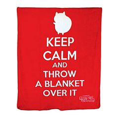 Bravest Warriors Catbug Microplush Blanket - Keep Calm and Throw a Blanket Over It - From the Creator of Adventure Time Bravest Warriors, Geek Out, Cool Cartoons, Way Of Life, The Ordinary, Keep Calm, Adventure Time, Nerdy, Things I Want
