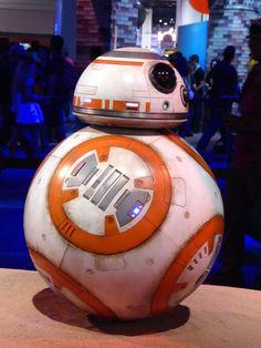 BB-8 droid Star Wars: The Force Awakens