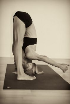 This is one of my fave #yoga poses, especially after #running.