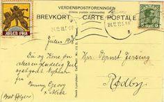 A Surprise Inside: 1918 Postcard. www.bookdecor.com