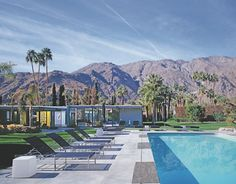 Palm Springs architect - Donald Wexler | Man of Steel The Dinah Shore House 1964