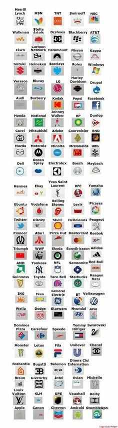 36 Best Logo Game Answ...