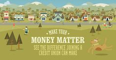 DID YOU KNOW ... that big banks raked in over $45 BILLION in profits last year off their customers deposits? Yikes! Learn about the #CreditUnionDifference and how being a Credit Union member keeps your money in your community! Are you with a big bank? Check out the calculator that shows you how much of your deposit becomes bank profit. #EyeOpening #MakeYourMoneyMatter