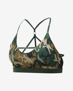 7dcbccf867f891 Nike Women s Camo Light Support Sports Bra Indy