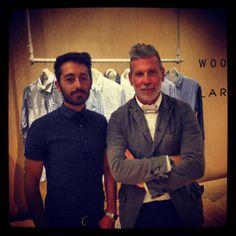 Pitti Uomo - Interview with Nick Wooster and Luigi Lardini » Men Style Fashion