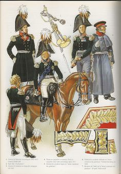 SOLDIERS- Courcelle: Generals 1808-15, by Patrice Courcelle.