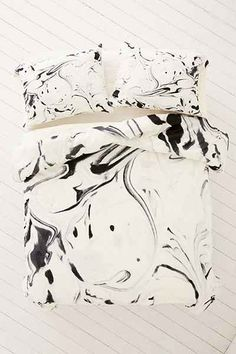 Jacqueline Maldonado For DENY Black And White Duvet Cover