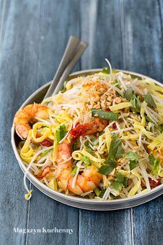 Thai Salads, Oriental Food, Tofu, Lunch Box, Food And Drink, Yummy Food, Ethnic Recipes, Fish, Foods
