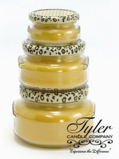 Tyler Candle Company. What sets the tone of your home? A wonderful smell, of course!!! If you could only smell the wonderful aroma of all our products that can fragrance your home, you would love each one.