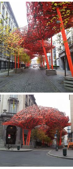 Arne Quinze's The Sequence, Belgium