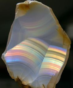 Horse Mountain Iris Agate.