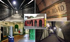 Eerie images reveal London's long-forgotten Underground stations