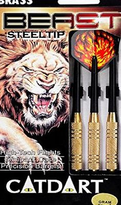 Catdart Cat Dart Beast Steel Tip Darts - Multi-Colour, 20 g No description (Barcode EAN = 7392601320216). http://www.comparestoreprices.co.uk/december-2016-week-1/catdart-cat-dart-beast-steel-tip-darts--multi-colour-20-g.asp