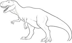 T Rex Dinosaur Coloring Pages Dinosaur Outline, Dinosaur Template, Dinosaur Printables, Dinosaur Drawing, Dinosaur Pattern, Dinosaur Dinosaur, Free Printables, Dinosaur Coloring Pages, Animal Coloring Pages