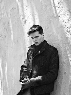 John Hein & Jon Paul in Grayscale by Jonathan Hökklo for Fashionisto Exclusive