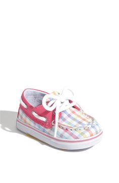 Cute Sperry baby shoes