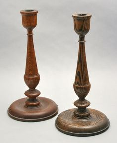 1000 Images About Wood Turning Candlesticks On