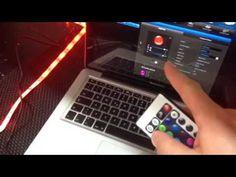 Ein kurzes How to Anleitungsvideo, wie du einen LED Stripe / Lichtstreifen per Smartphone aber auch weiterhin per Infrarot Fernbedienung steuerst.