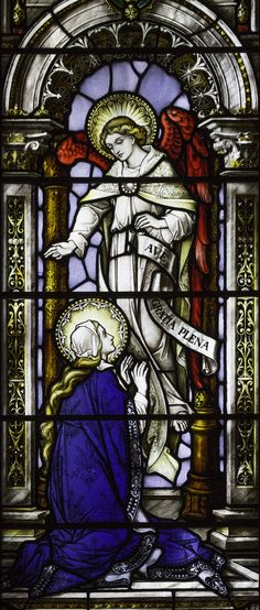 https://flic.kr/p/mq8soD | Our Lady of the Annunciation |  The text of my televised reflection about today's feast, broadcast on ETWN today, can be read here.  This stained glass window is in the Mercy Convent in Edinburgh.