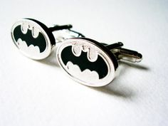 Wedding favours Batman Cuff Links  stainless steel by LondonDesign, £14.60