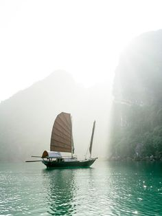 Coyote Atelier travel wish list: Bai Tu Long Bay, Vietnam. Photo by Sharon Radisch.
