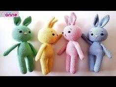 Amigurumi Tavşan Yapımı - Örgü Oyuncak - Canım Anne