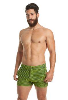 Mr Turk Mens Safari Swim Trunk