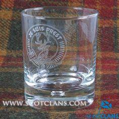 Fraser Clan Crest Gl