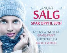JANUARSALG 2014 - Alt du trenger innen kosmetikk, skjønnhet og velvære!  GRATIS Frakt | Best i Test | Rask Levering.  www.BliVakker.no