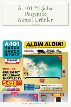 25 Şubat Aktüel Ürünler Prime Video, Smart Tv, Netflix, Youtube, Youtubers, Youtube Movies