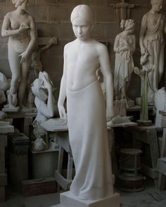 'Madeleine' marble commissioned by the St. Anton, Hakone, Modern Sculpture, Stone Carving, Sculpting, Marble, Trondheim Norway, Statue, Instagram Posts