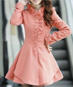 4 colors women's Princess style dress Coat jacket Apring autumn winter coat jacket cute coat C123 on Etsy, $55.00