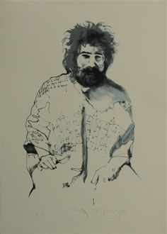 Stanley Mouse Grateful Dead Fine Art Silkscreen For Workingman's Dead Jerry Garcia