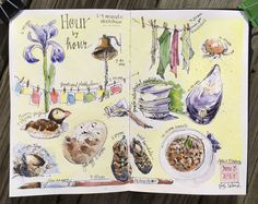 How do you capture a day? In hours? In moments? The premise of the Hour by Hour sketch challenge is to put pen to paper every hour of a single day on one journal page, with no sketch taking more th…