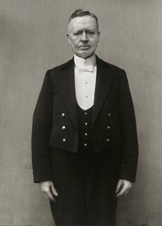 August Sander. Duke's Manservant. c. 1930.