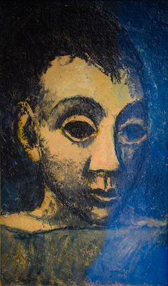 Pablo Picasso - Head of a Boy, 1906 at Carnegie Museum of Art - Pittsburgh PA