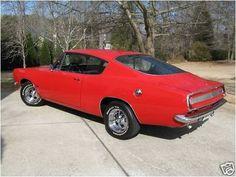 1967 Plymouth Barracuda Fastback.