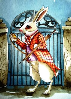 *THE WHITE RABBIT ~ Alice in Wonderland