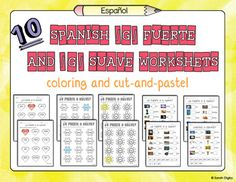 tons of spanish phonics worksheets targeting a variety of blends and other more advanced spanish. Black Bedroom Furniture Sets. Home Design Ideas
