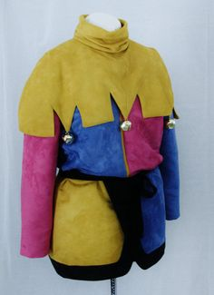 Adult Clopin Jester Tunic and Collar ONLY by NeverbugCreations, $450.00