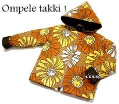 Kukikkaat kuosit: Takin ompeluohje