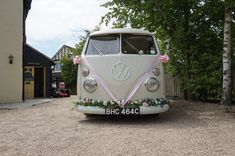 Getting married in Westerham, Kent? Travel in style! Wedding Car Hire, Wedding Company, Wedding Venues, Tiny Camper, Vw Camper, Kent Travel, Light Up Signs, White Vans, Civil Ceremony