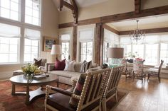 formal yet lovely and comfortable campbell residence | alice lane home collection